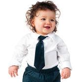 ребенок, одетый в бизнесе — Стоковое фото
