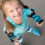 Girl on roller skates — Stock Photo #10681199