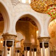 Sheikh Zayed mosque inside — Stock Photo #8938765