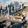 Beautiful view of the city of Dubai — Stock Photo
