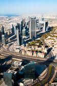 Beautiful view of the city of Dubai — Stock Photo