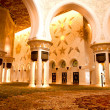 Stock Photo: Sheikh Zayed mosque inside