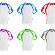 Set of colorful T-shirts — Stock Photo