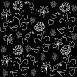 Seamless floral pattern vector — Vetorial Stock #9053405