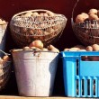 Royalty-Free Stock Photo: Basket of Potatoes