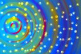 Colored circles with stars — Fotografia Stock