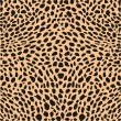 Skin cheetah decor — Stock vektor
