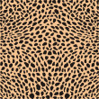 huid cheetah decor — Stockvector