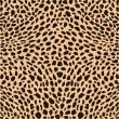 décor de guépard de peau — Vecteur