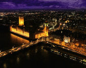 Houses of Parliament London UK — Stock Photo