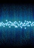 цифровых пикселей цветной дисплей — Стоковое фото