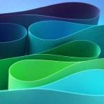 Cool color arc wave form — Stock Photo