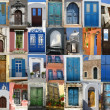 Doors of Greece - Stock Photo