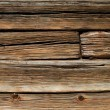 Old wooden log house wall — Stock Photo
