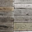 Old plank boardwalk - Stock Photo