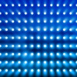 Blue spotlight wall - Stock Photo