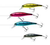 Fishing lures cmyk — Stock Photo