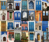 Doors of Greece — Stock Photo