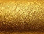 Leaf gold foil texture — Stock Photo