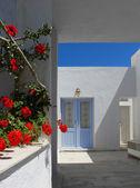 Mediterranean doorway — Stock Photo