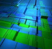 Transparent levels technology background — Stock Photo