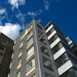 Modern apartment building — Stockfoto #9337446