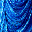 Blue disco glitte canvas - Foto Stock