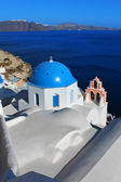 Church in Oia Santorini Greece — Stock Photo