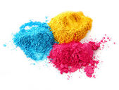 Işlem rengi tebeşir tozu — Stok fotoğraf