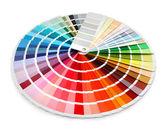 Designer color chart spectrum — Stock Photo