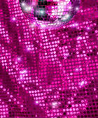Disco mirror ball glitter — Stock Photo