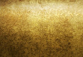 Aged golden brocade pattern — Stock Photo