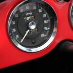 Classic car speedometer — Stock Photo #9352318