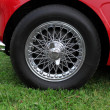 Stock Photo: Chrome wheel