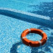 Pool and life saver — Stock Photo