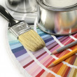 Stock Photo: Design with color