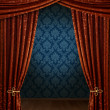 Royalty-Free Stock Photo: Grand opening curtains