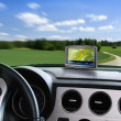 Stock Photo: auto gps navigator