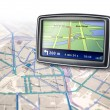 Gps navigator device — Stock Photo