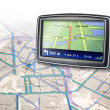 Stock Photo: Gps navigator device