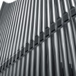 Organ pipes perspective - Stock Photo