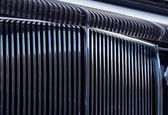 Chromed grille — Stock Photo