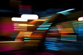 Color lights moving — Stock Photo