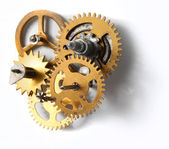 Old clock mechanism — Stock Photo