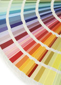 Color chart fan v — Stock Photo