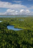 Hideaway lake — Stockfoto