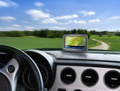 Auto gps navigator — Stock Photo