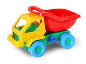 красочная игрушка грузовик — Стоковое фото