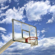 Basket high above — Stock Photo