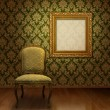 Classic chair in room — Stock Photo